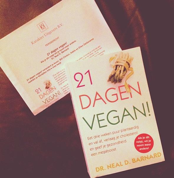 Boek 21 dagen vegan dr neal barnard de groene keuken for Vegan boek