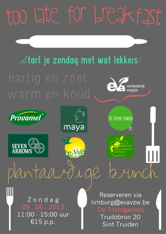 Too late for breakfast - Plantaardige brunch EVA Limburg | De Groene Keuken