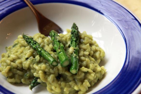 Risotto van Groene Asperges - De Groene Keuken
