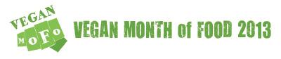 Vegan MoFo 2013 | De Groene Keuken