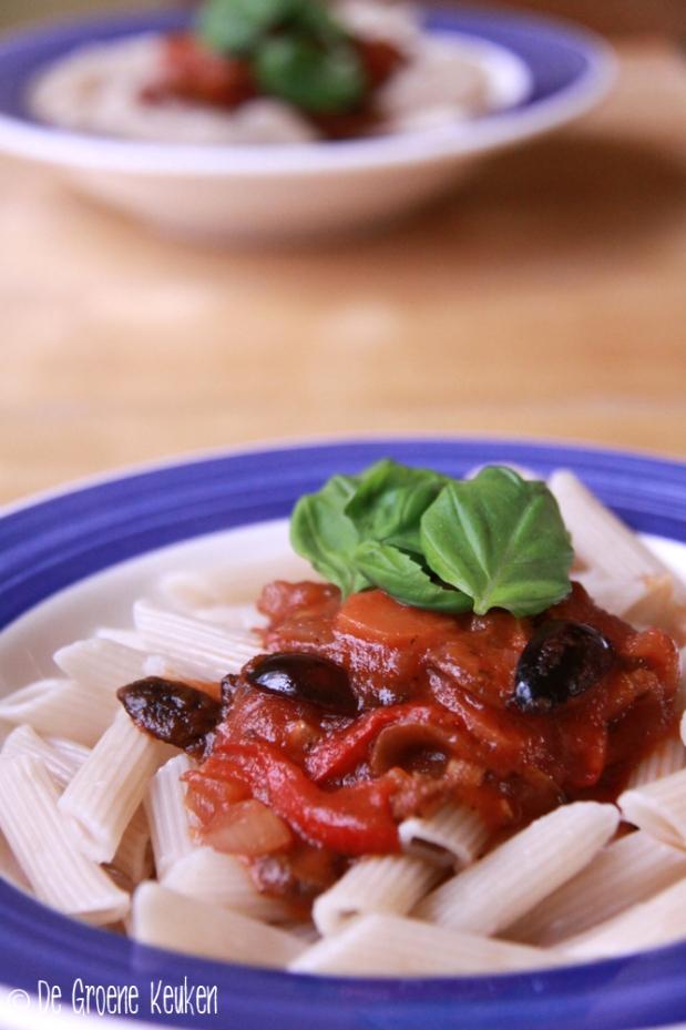 Tomatensaus met groenten | De Groene Keuken