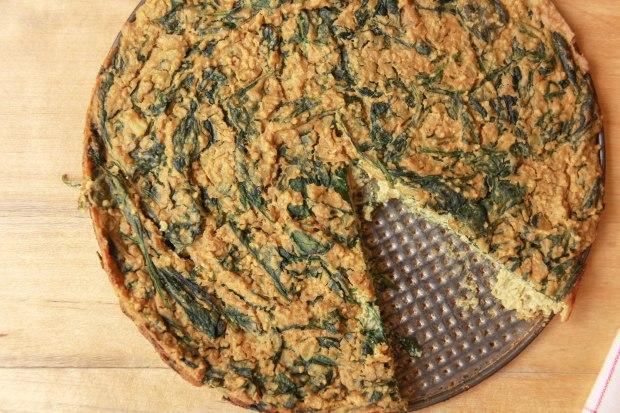 Hartige Ontbijttaart / Vegan Frittata | De Groene Keuken