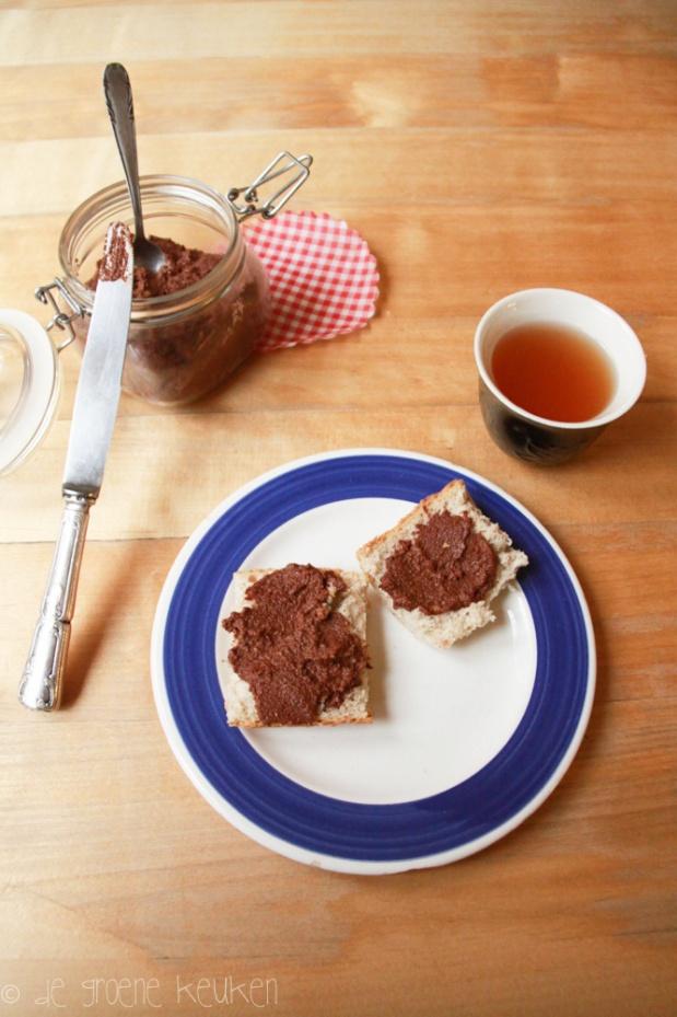 Chocolade-Notenspread (Vegan MoFo 2) | De Groene Keuken