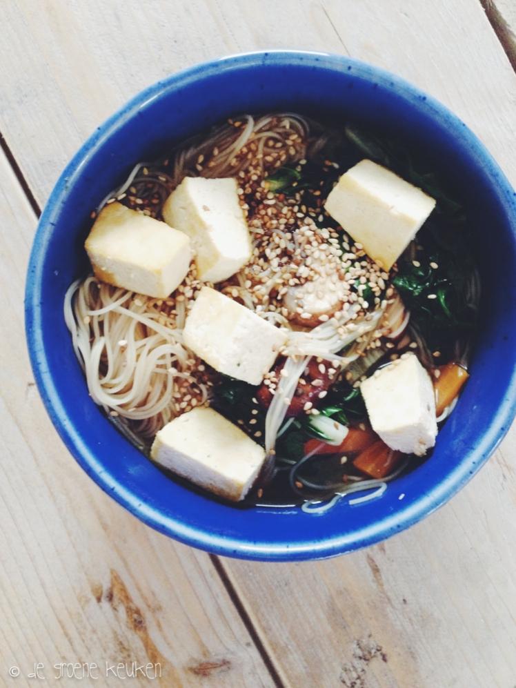 Miso Noedelsoep | De Groene Keuken