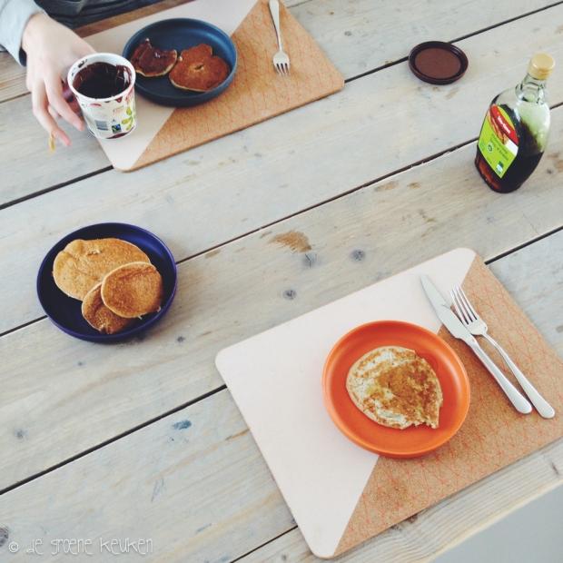 Banaan Havermout Pannenkoeken | De Groene Keuken