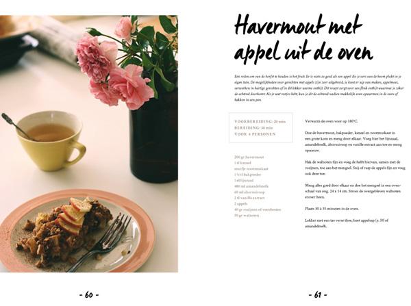 Havermout met Appel uit de Oven L De Groene Keuken #vegan #veganmofo #vgnmf15