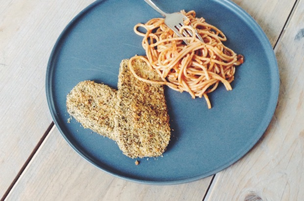 Eggplant Parmesan from 500 Vegan Recipes | De Groene Keuken