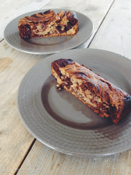 Marbled Banana Bread from Isa Does It | De Groene Keuken