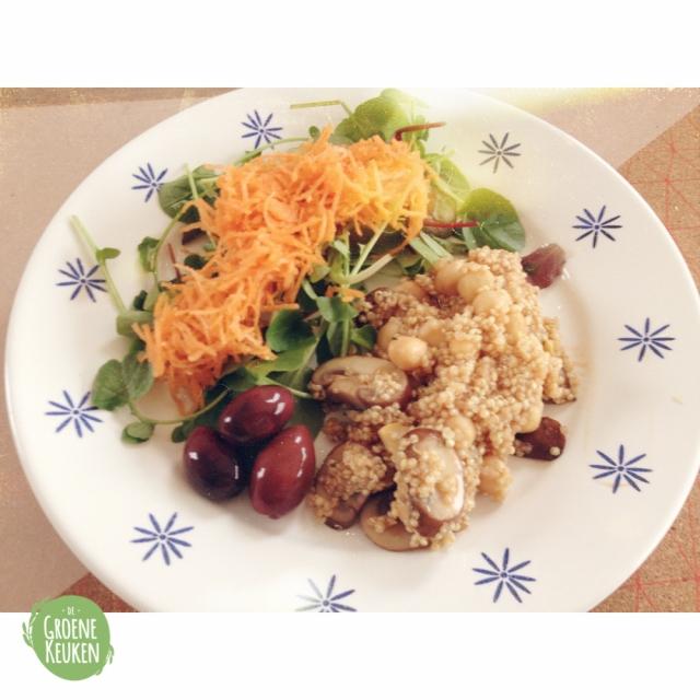 Weekmenu #26.2 Lunch | De Groene Keuken