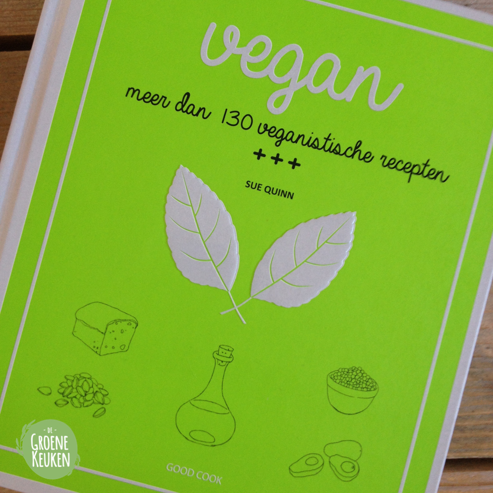 Vegan sue quinn de groene keuken for Vegan boek