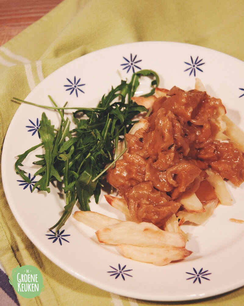 Recept : seitanstoverij – de groene keuken
