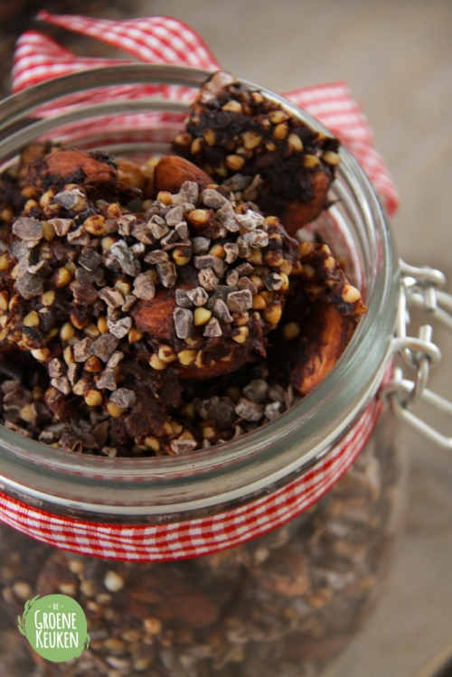Chocolade Rawnola | De Groene Keuken
