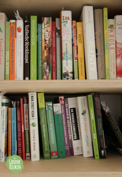 Kookboekenkast | De Groene Keuken