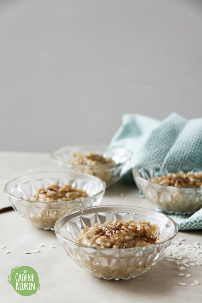 Risotto Rice Pudding With Brown Sugar And Vanilla Recipe ...