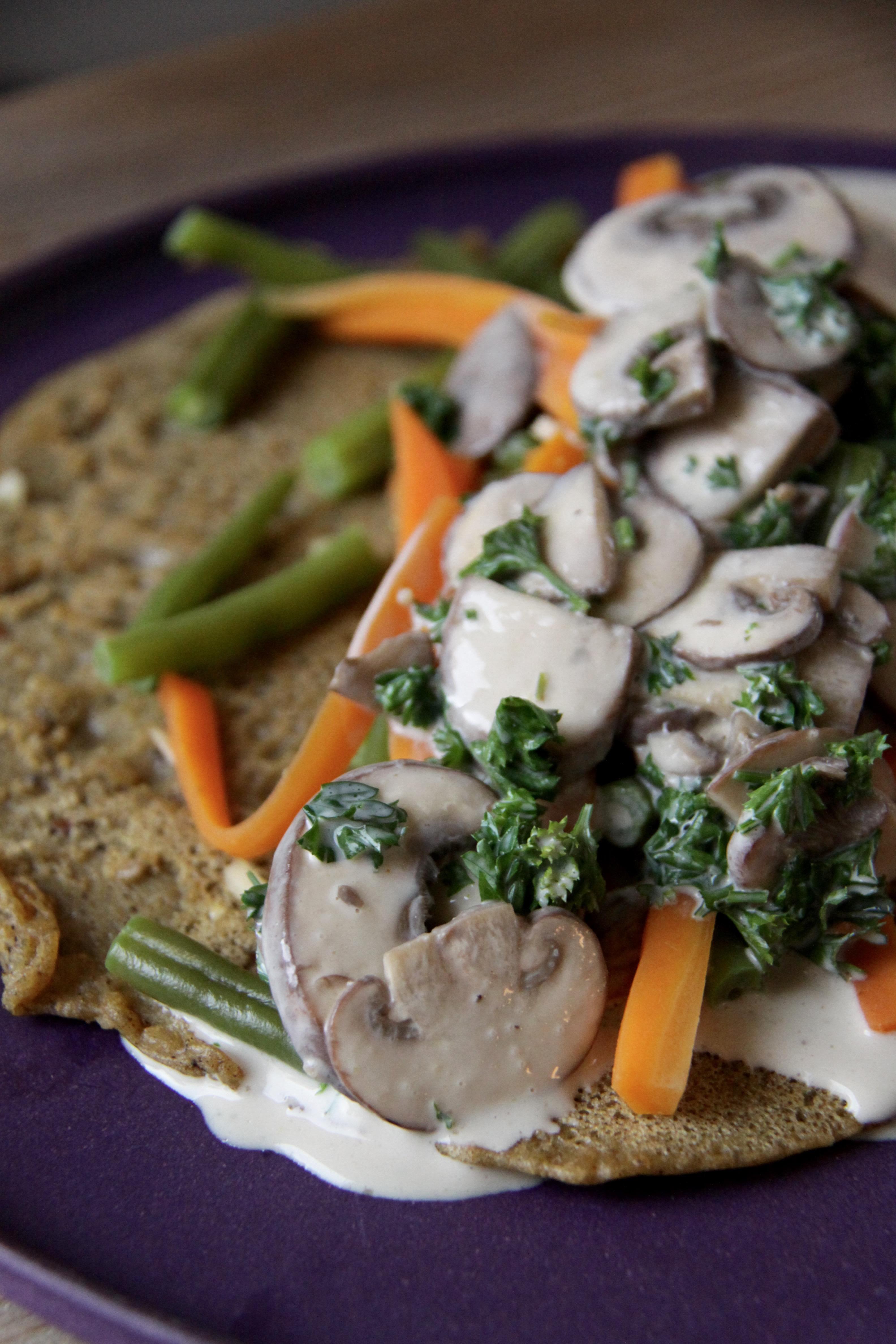 RECEPT : Hartige pannenkoek met sperziebonen, wortels en ...