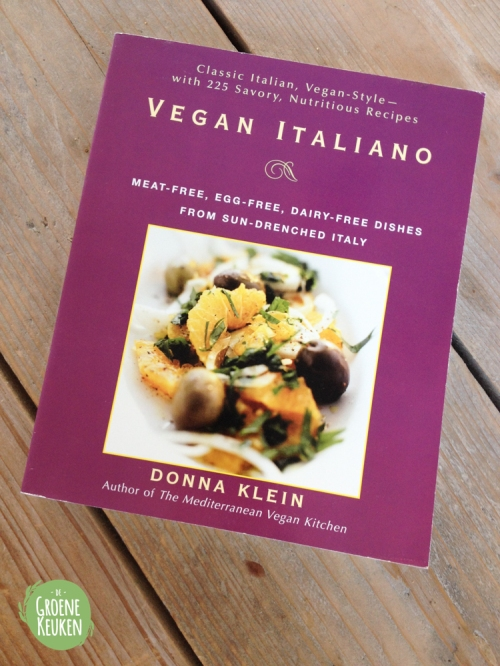Recensie Vegan Italiano - Donna Klein | De Groene Keuken