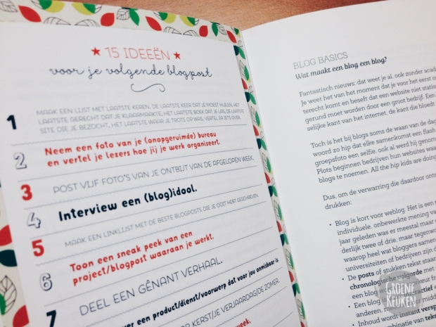 Recensie Blogboek, Kelly Deriemaeker |De Groene Keuken