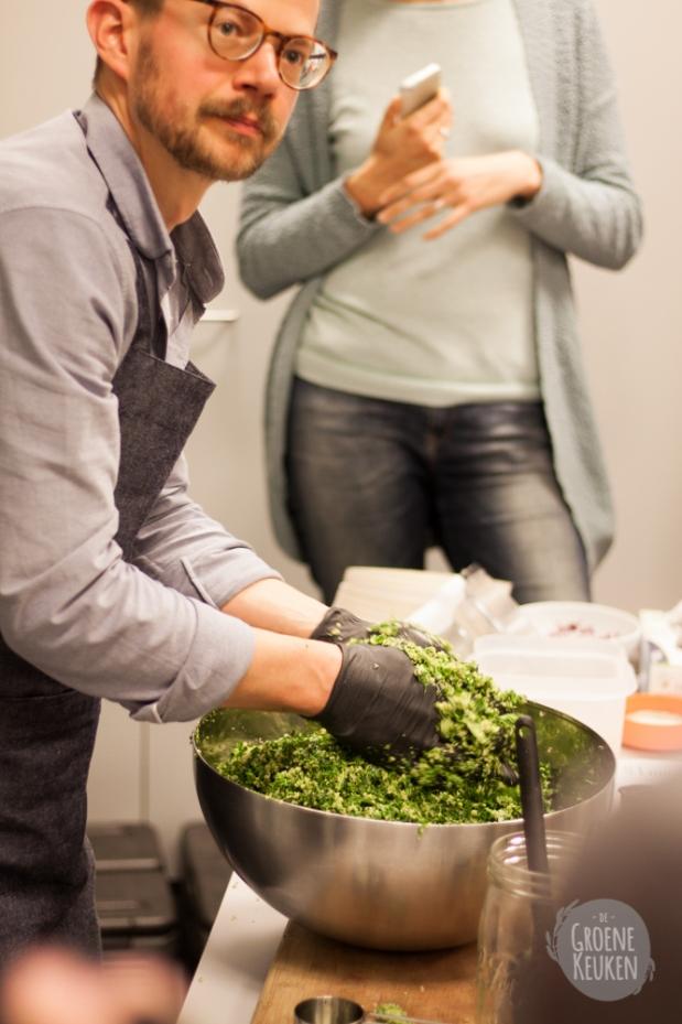 Healthy at work met Julie van den Kerchove | De Groene Keuken
