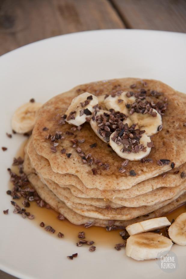 Ontbijtpannenkoeken |De Groene Keuken