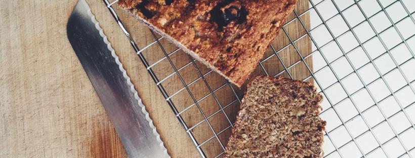 Glutenvrij Vegan Bananenbrood | De Groene Keuken